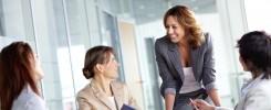 Mulheres como líderes